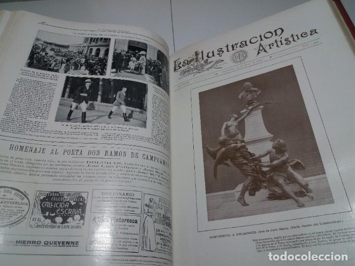 Libros antiguos: FABULOSO Y EXCEPCIONAL LIBRO ILUSTRACION ARTISTICA 110 AÑOS MONUMENTAL 40 cm - Foto 181 - 240999385