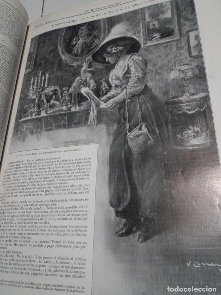 Libros antiguos: FABULOSO Y EXCEPCIONAL LIBRO ILUSTRACION ARTISTICA 110 AÑOS MONUMENTAL 40 cm - Foto 183 - 240999385