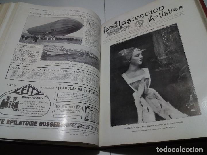 Libros antiguos: FABULOSO Y EXCEPCIONAL LIBRO ILUSTRACION ARTISTICA 110 AÑOS MONUMENTAL 40 cm - Foto 187 - 240999385