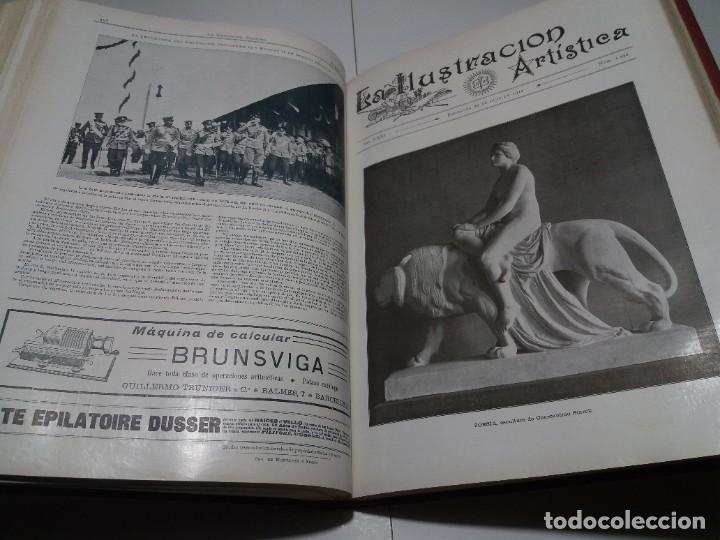 Libros antiguos: FABULOSO Y EXCEPCIONAL LIBRO ILUSTRACION ARTISTICA 110 AÑOS MONUMENTAL 40 cm - Foto 192 - 240999385