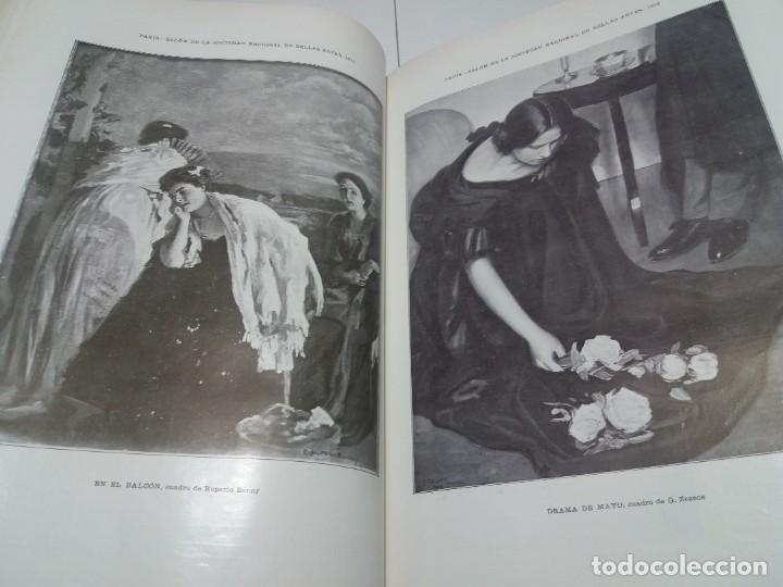 Libros antiguos: FABULOSO Y EXCEPCIONAL LIBRO ILUSTRACION ARTISTICA 110 AÑOS MONUMENTAL 40 cm - Foto 195 - 240999385