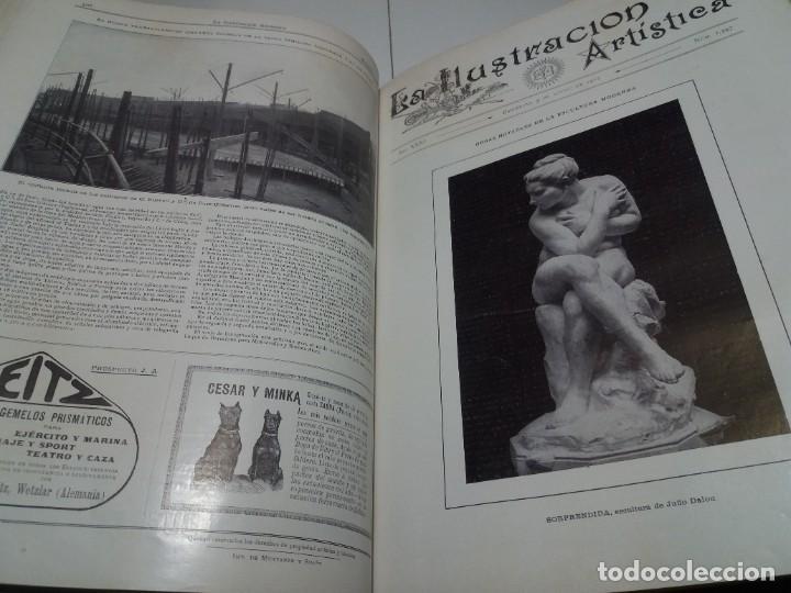 Libros antiguos: FABULOSO Y EXCEPCIONAL LIBRO ILUSTRACION ARTISTICA 110 AÑOS MONUMENTAL 40 cm - Foto 198 - 240999385