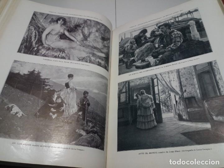 Libros antiguos: FABULOSO Y EXCEPCIONAL LIBRO ILUSTRACION ARTISTICA 110 AÑOS MONUMENTAL 40 cm - Foto 201 - 240999385