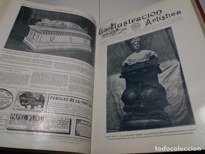 Libros antiguos: FABULOSO Y EXCEPCIONAL LIBRO ILUSTRACION ARTISTICA 110 AÑOS MONUMENTAL 40 cm - Foto 204 - 240999385