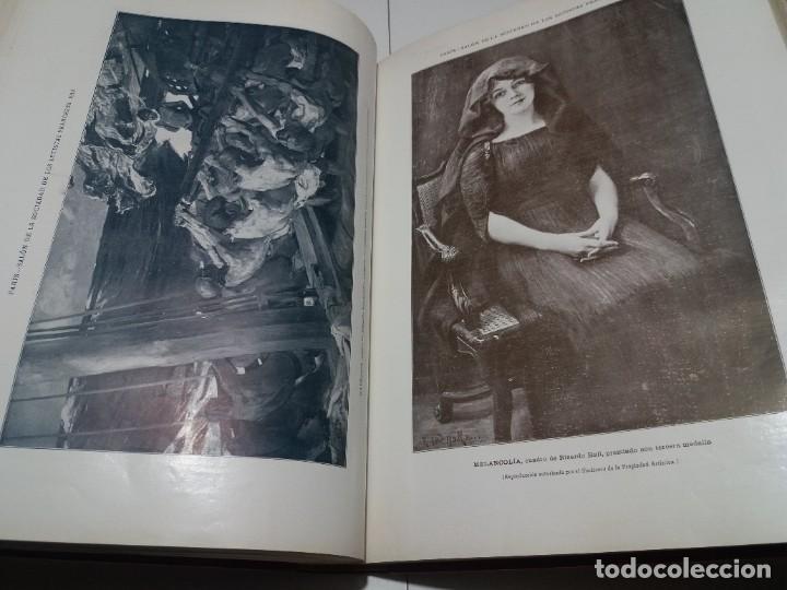 Libros antiguos: FABULOSO Y EXCEPCIONAL LIBRO ILUSTRACION ARTISTICA 110 AÑOS MONUMENTAL 40 cm - Foto 206 - 240999385