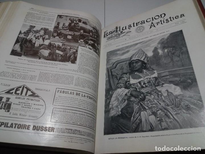Libros antiguos: FABULOSO Y EXCEPCIONAL LIBRO ILUSTRACION ARTISTICA 110 AÑOS MONUMENTAL 40 cm - Foto 209 - 240999385