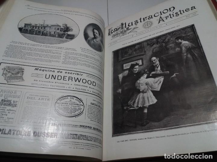 Libros antiguos: FABULOSO Y EXCEPCIONAL LIBRO ILUSTRACION ARTISTICA 110 AÑOS MONUMENTAL 40 cm - Foto 216 - 240999385
