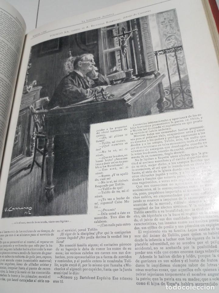 Libros antiguos: FABULOSO Y EXCEPCIONAL LIBRO ILUSTRACION ARTISTICA 110 AÑOS MONUMENTAL 40 cm - Foto 217 - 240999385