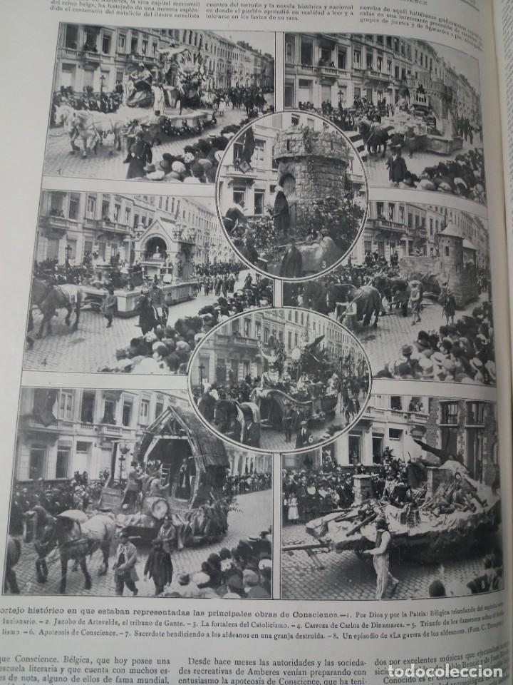 Libros antiguos: FABULOSO Y EXCEPCIONAL LIBRO ILUSTRACION ARTISTICA 110 AÑOS MONUMENTAL 40 cm - Foto 220 - 240999385