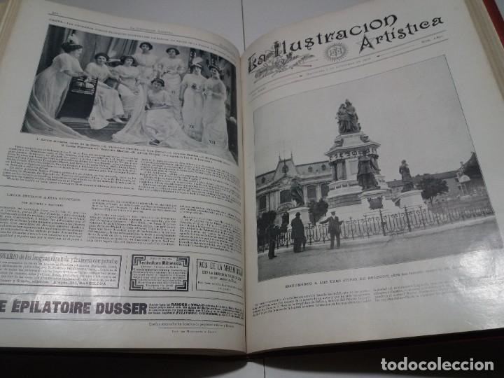 Libros antiguos: FABULOSO Y EXCEPCIONAL LIBRO ILUSTRACION ARTISTICA 110 AÑOS MONUMENTAL 40 cm - Foto 221 - 240999385