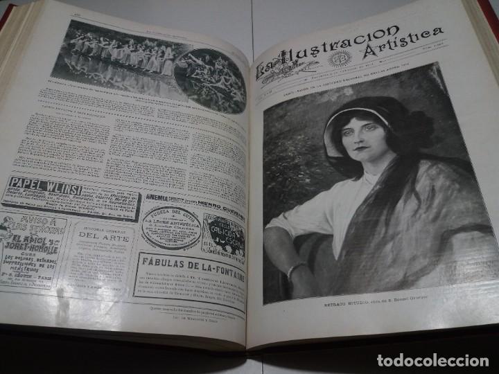 Libros antiguos: FABULOSO Y EXCEPCIONAL LIBRO ILUSTRACION ARTISTICA 110 AÑOS MONUMENTAL 40 cm - Foto 226 - 240999385