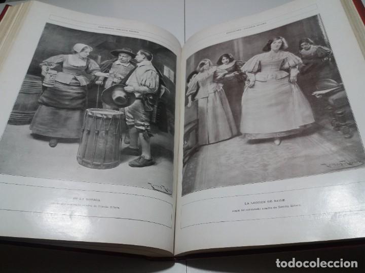 Libros antiguos: FABULOSO Y EXCEPCIONAL LIBRO ILUSTRACION ARTISTICA 110 AÑOS MONUMENTAL 40 cm - Foto 228 - 240999385