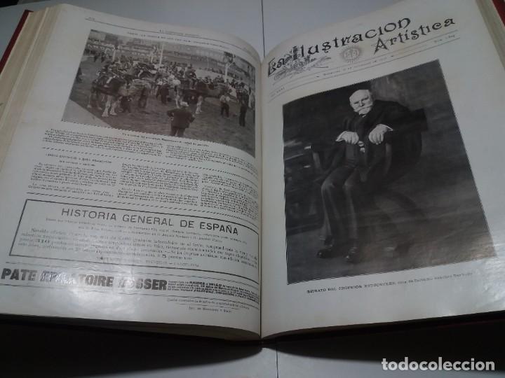 Libros antiguos: FABULOSO Y EXCEPCIONAL LIBRO ILUSTRACION ARTISTICA 110 AÑOS MONUMENTAL 40 cm - Foto 230 - 240999385