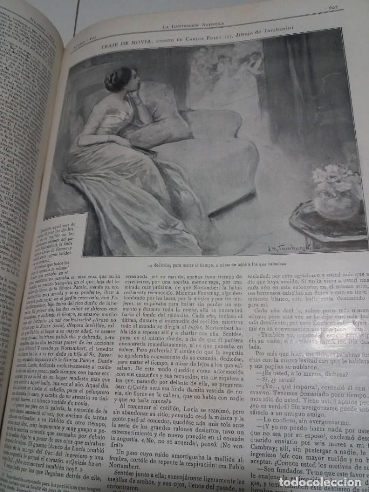 Libros antiguos: FABULOSO Y EXCEPCIONAL LIBRO ILUSTRACION ARTISTICA 110 AÑOS MONUMENTAL 40 cm - Foto 231 - 240999385