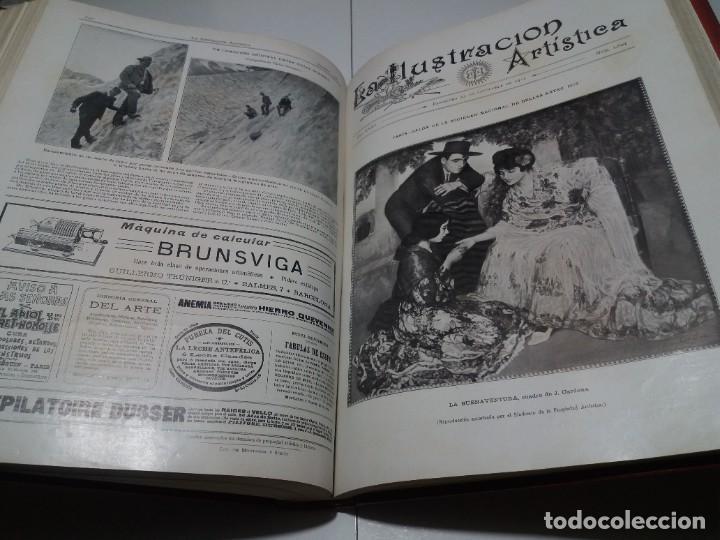 Libros antiguos: FABULOSO Y EXCEPCIONAL LIBRO ILUSTRACION ARTISTICA 110 AÑOS MONUMENTAL 40 cm - Foto 236 - 240999385