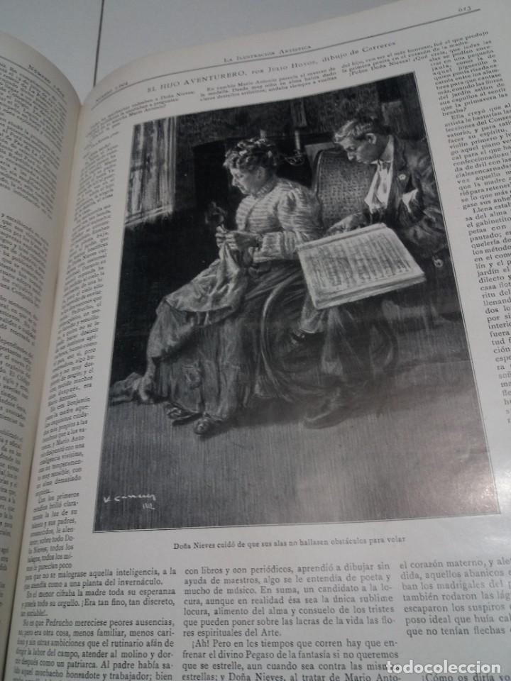 Libros antiguos: FABULOSO Y EXCEPCIONAL LIBRO ILUSTRACION ARTISTICA 110 AÑOS MONUMENTAL 40 cm - Foto 237 - 240999385