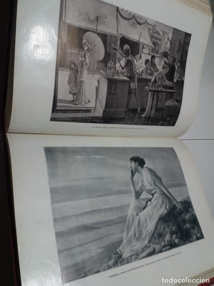 Libros antiguos: FABULOSO Y EXCEPCIONAL LIBRO ILUSTRACION ARTISTICA 110 AÑOS MONUMENTAL 40 cm - Foto 239 - 240999385