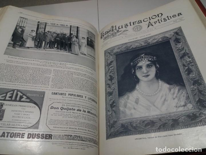 Libros antiguos: FABULOSO Y EXCEPCIONAL LIBRO ILUSTRACION ARTISTICA 110 AÑOS MONUMENTAL 40 cm - Foto 242 - 240999385