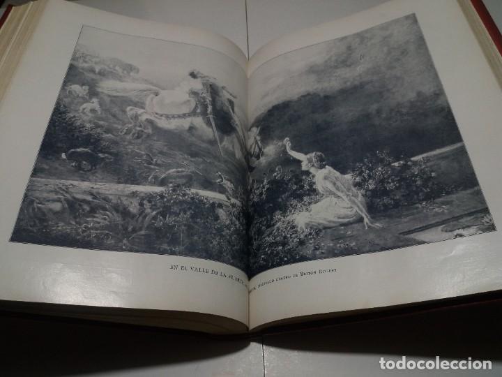 Libros antiguos: FABULOSO Y EXCEPCIONAL LIBRO ILUSTRACION ARTISTICA 110 AÑOS MONUMENTAL 40 cm - Foto 245 - 240999385