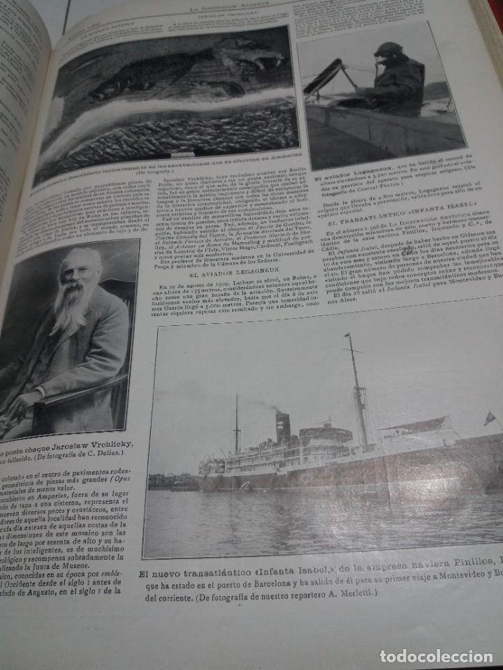 Libros antiguos: FABULOSO Y EXCEPCIONAL LIBRO ILUSTRACION ARTISTICA 110 AÑOS MONUMENTAL 40 cm - Foto 247 - 240999385