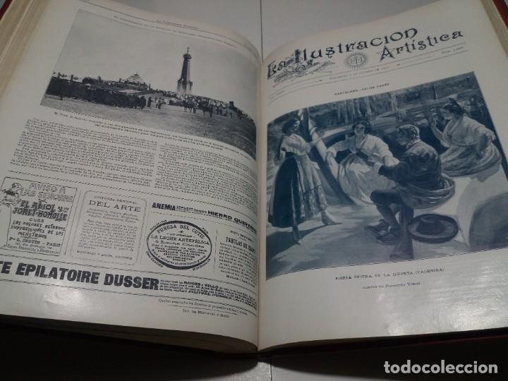 Libros antiguos: FABULOSO Y EXCEPCIONAL LIBRO ILUSTRACION ARTISTICA 110 AÑOS MONUMENTAL 40 cm - Foto 248 - 240999385
