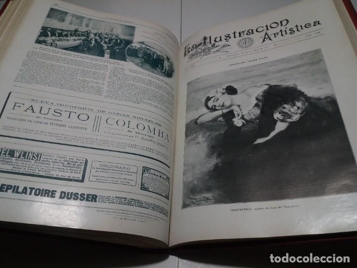 Libros antiguos: FABULOSO Y EXCEPCIONAL LIBRO ILUSTRACION ARTISTICA 110 AÑOS MONUMENTAL 40 cm - Foto 254 - 240999385