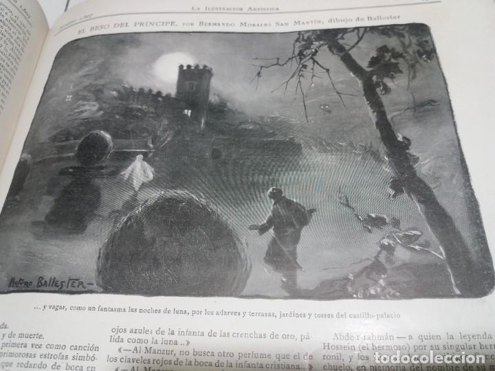 Libros antiguos: FABULOSO Y EXCEPCIONAL LIBRO ILUSTRACION ARTISTICA 110 AÑOS MONUMENTAL 40 cm - Foto 255 - 240999385