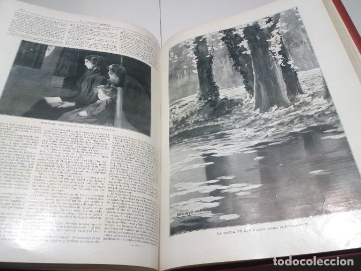 Libros antiguos: FABULOSO Y EXCEPCIONAL LIBRO ILUSTRACION ARTISTICA 110 AÑOS MONUMENTAL 40 cm - Foto 256 - 240999385