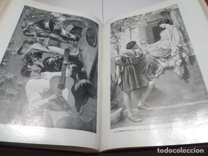Libros antiguos: FABULOSO Y EXCEPCIONAL LIBRO ILUSTRACION ARTISTICA 110 AÑOS MONUMENTAL 40 cm - Foto 258 - 240999385