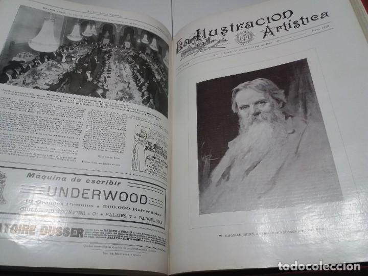 Libros antiguos: FABULOSO Y EXCEPCIONAL LIBRO ILUSTRACION ARTISTICA 110 AÑOS MONUMENTAL 40 cm - Foto 260 - 240999385