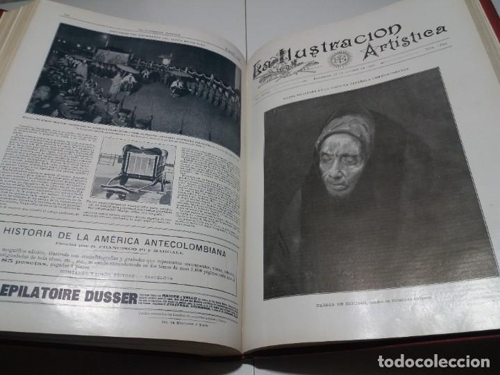 Libros antiguos: FABULOSO Y EXCEPCIONAL LIBRO ILUSTRACION ARTISTICA 110 AÑOS MONUMENTAL 40 cm - Foto 265 - 240999385