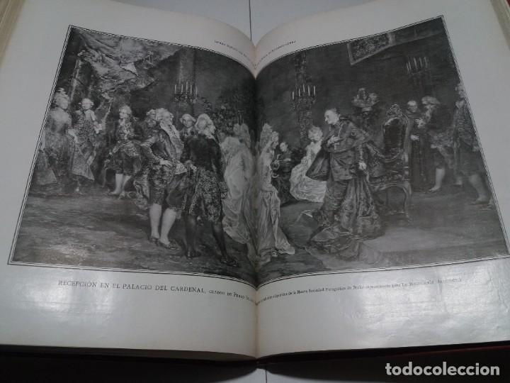 Libros antiguos: FABULOSO Y EXCEPCIONAL LIBRO ILUSTRACION ARTISTICA 110 AÑOS MONUMENTAL 40 cm - Foto 268 - 240999385