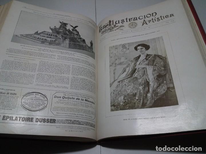 Libros antiguos: FABULOSO Y EXCEPCIONAL LIBRO ILUSTRACION ARTISTICA 110 AÑOS MONUMENTAL 40 cm - Foto 271 - 240999385