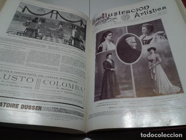 Libros antiguos: FABULOSO Y EXCEPCIONAL LIBRO ILUSTRACION ARTISTICA 110 AÑOS MONUMENTAL 40 cm - Foto 276 - 240999385