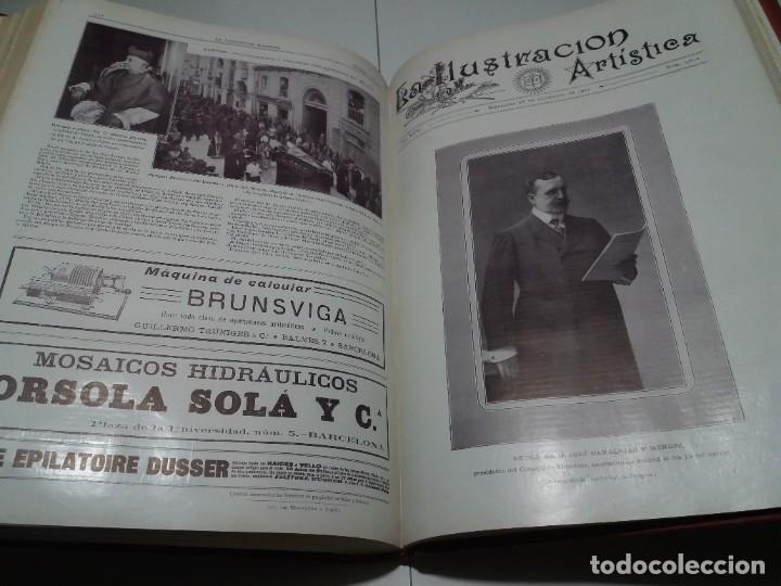 Libros antiguos: FABULOSO Y EXCEPCIONAL LIBRO ILUSTRACION ARTISTICA 110 AÑOS MONUMENTAL 40 cm - Foto 280 - 240999385