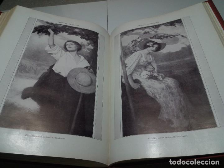 Libros antiguos: FABULOSO Y EXCEPCIONAL LIBRO ILUSTRACION ARTISTICA 110 AÑOS MONUMENTAL 40 cm - Foto 283 - 240999385