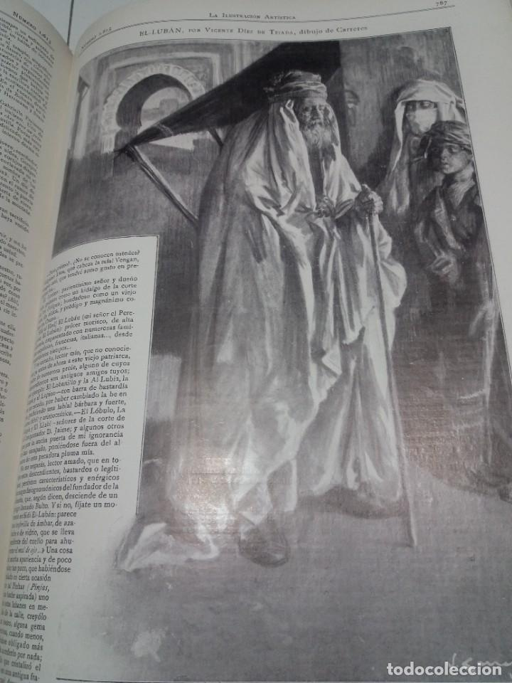 Libros antiguos: FABULOSO Y EXCEPCIONAL LIBRO ILUSTRACION ARTISTICA 110 AÑOS MONUMENTAL 40 cm - Foto 286 - 240999385