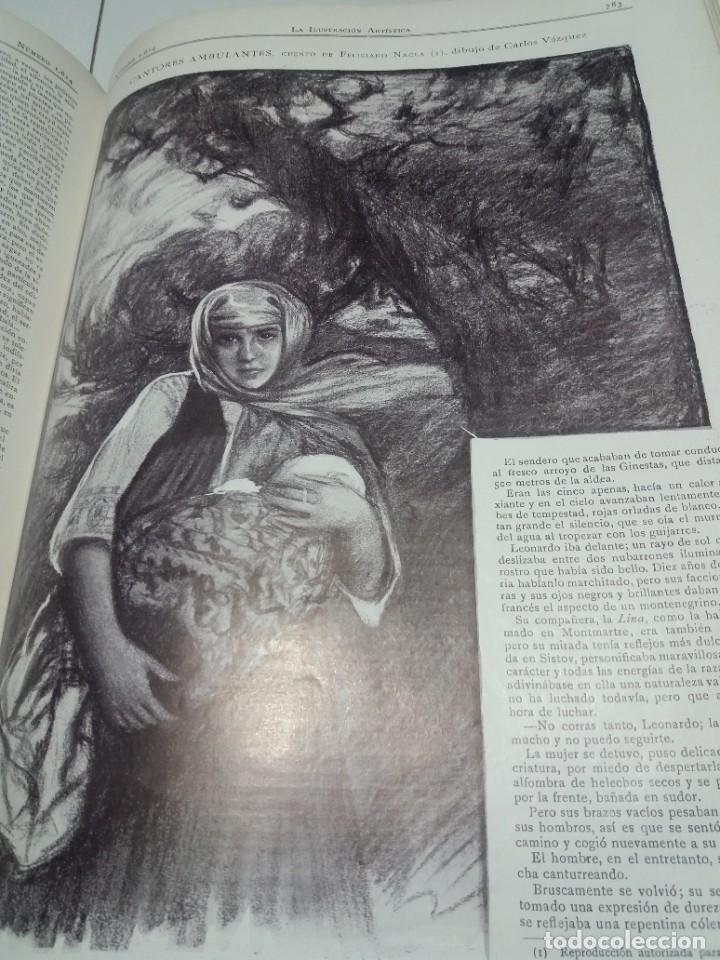 Libros antiguos: FABULOSO Y EXCEPCIONAL LIBRO ILUSTRACION ARTISTICA 110 AÑOS MONUMENTAL 40 cm - Foto 292 - 240999385