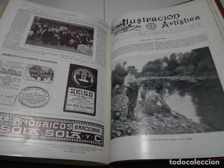 Libros antiguos: FABULOSO Y EXCEPCIONAL LIBRO ILUSTRACION ARTISTICA 110 AÑOS MONUMENTAL 40 cm - Foto 301 - 240999385