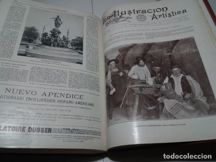Libros antiguos: FABULOSO Y EXCEPCIONAL LIBRO ILUSTRACION ARTISTICA 110 AÑOS MONUMENTAL 40 cm - Foto 308 - 240999385
