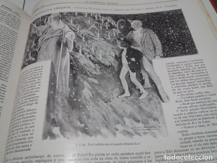 Libros antiguos: FABULOSO Y EXCEPCIONAL LIBRO ILUSTRACION ARTISTICA 110 AÑOS MONUMENTAL 40 cm - Foto 309 - 240999385