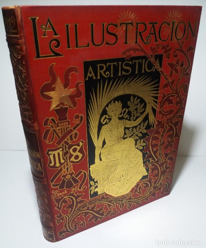 Libros antiguos: FABULOSO Y EXCEPCIONAL LIBRO ILUSTRACION ARTISTICA 110 AÑOS MONUMENTAL 40 cm - Foto 319 - 240999385