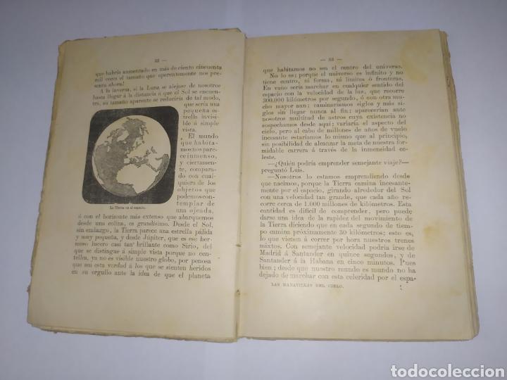 Libros antiguos: Las Maravillas del Cielo S. Calleja. Madre 1901 - Foto 4 - 241118795