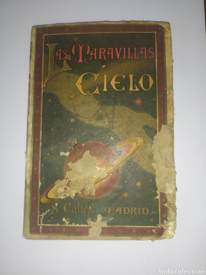 LAS MARAVILLAS DEL CIELO S. CALLEJA. MADRE 1901 (Libros Antiguos, Raros y Curiosos - Literatura Infantil y Juvenil - Otros)