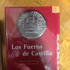 Libros antiguos: ALVARADO LOS FUEROS DE CASTILLA. Lote 241222920