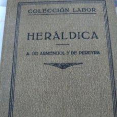 Libros antiguos: HERÁLDICA 1933. Lote 241232300