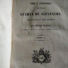 Libros antiguos: GUZMÁN DE ALNAFARACHE 1843. Lote 241256090