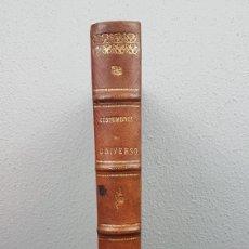 Libros antiguos: COSTUMBRES DEL UNIVERSO, OBRA ESCRITA POR D. NICOLAS DIAZ DE BENJUMEA, TOMO I AÑO 1865. Lote 241437505