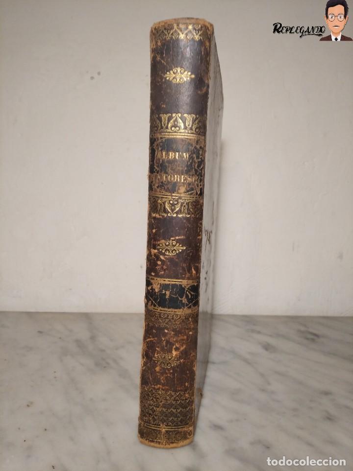 Libros antiguos: ÁLBUM PINTORESCO UNIVERSAL (1842) TOMO PRIMERO - SIGLO XIX - EDITOR FRANCISCO OLIVA - BARCELONA - Foto 8 - 241730585
