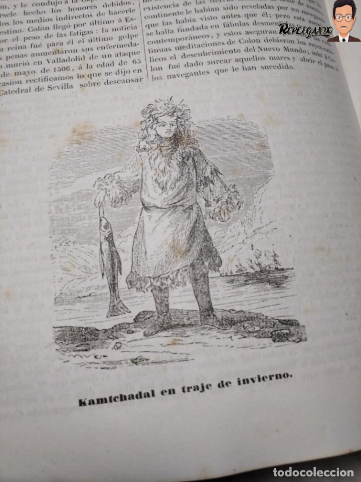 Libros antiguos: ÁLBUM PINTORESCO UNIVERSAL (1842) TOMO PRIMERO - SIGLO XIX - EDITOR FRANCISCO OLIVA - BARCELONA - Foto 21 - 241730585